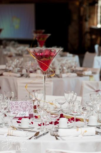 STYLE GB Ghislaine Boullé decoration de salle, décoration des tables, centres de tables