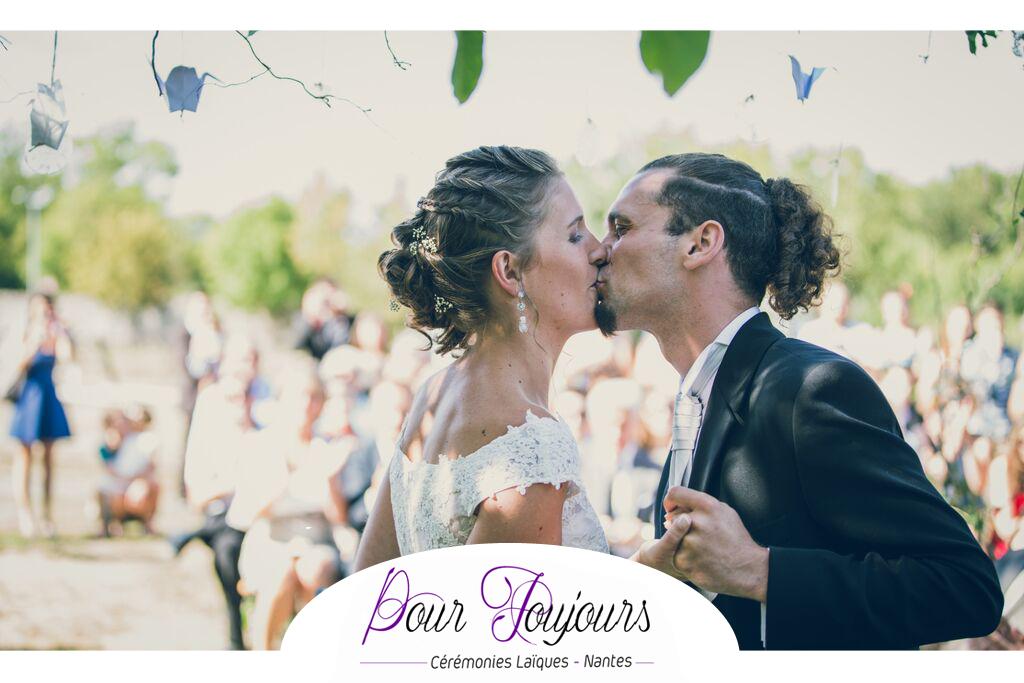 pour toujours crmonies ceremonie laique nantes pays de la loire bretagne ceremonie mariage bonheur emotion - Crmonie Laique Mariage