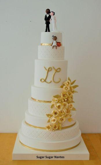 sugar sugar, wedding cake, nantes, gateau de mariage, chic