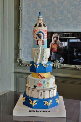 weddingcake sugarsugar la fashion nantes gateau de mariage