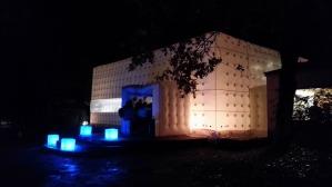 Domaine du petit marais, pornic, location salle réception nantes, salle originale, mariage original, mise en lumière, eclairage mariage