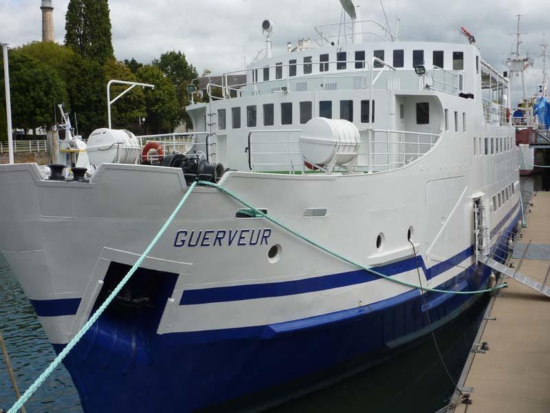 guerveur bateau mariage arzal