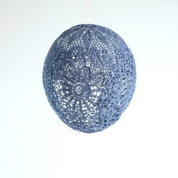 Ballon bleu maillo design textile creation