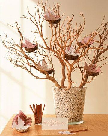 livre d'or arbre à voeux arbre à souhaits voeux invités