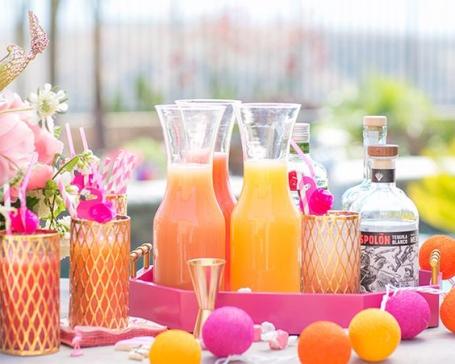 bar à smoothie jarre jus de fruits mariage fraicheur idees orignales tendances mariage jus de fruits frais vitamines mariage