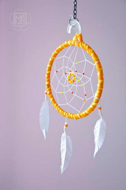 livre d'or dream catcher diy attrape-rêve accroche rêve alternative symbole