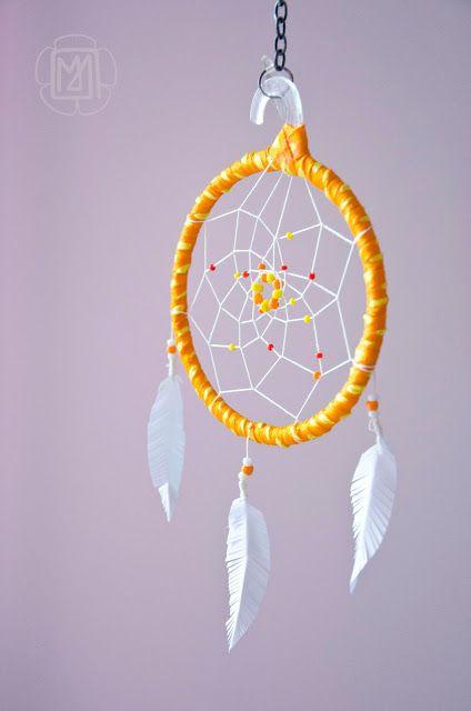 livre d'or dream catcher diy attrape-rêve accroche rêve alternative symbole
