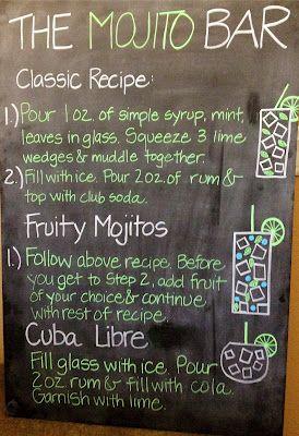 mojito bar bar à mojito idee mariage original tendance mariage nantes 44 mojito recipe mojito recette cocktail