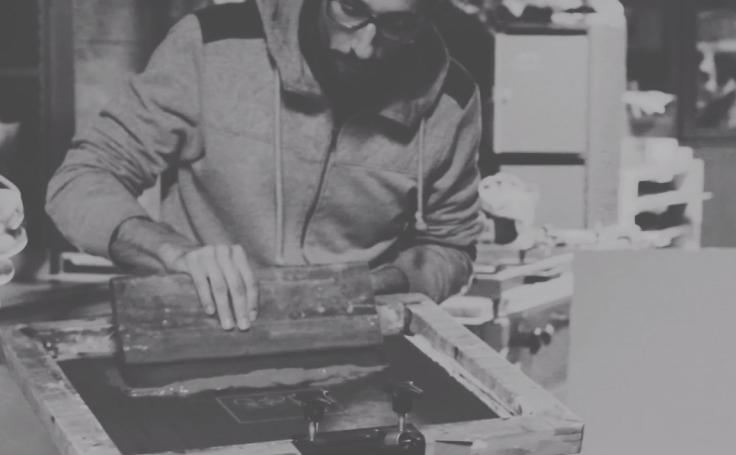 atelier sérigraphie antonin plus margaux nantes impression sur supports