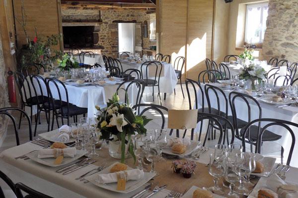 gite les beaux matins de la lande de queldan marzan reception gite de groupe salle cheminee mariage 50 personnes 56