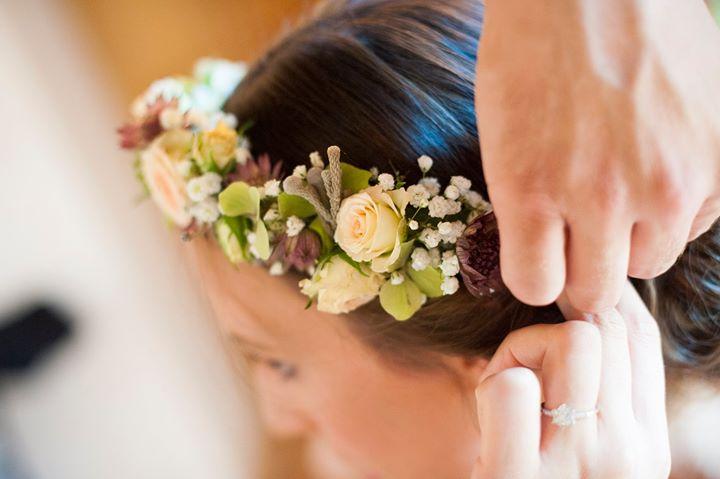 les jolies choses coueron fleuriste nantes pays de la loire bretagne wedding designer courrone florale mariée