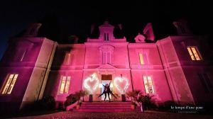 les jolies choses coueron fleuriste nantes pays de la loire bretagne wedding designer chateau le saz coeurs illuminés