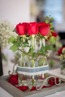 les jolies choses coueron fleuriste nantes pays de la loire bretagne composition roses rouges