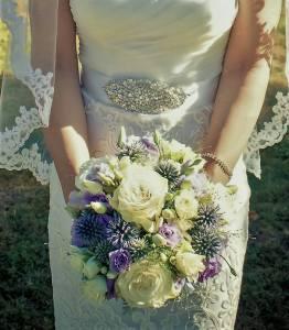 les jolies choses coueron fleuriste nantes pays de la loire bretagne wedding designer bouquet mariee romantique lavande bleu pale roses